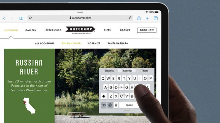 Как использовать новую клавиатуру в iOS 13 и iPadOS
