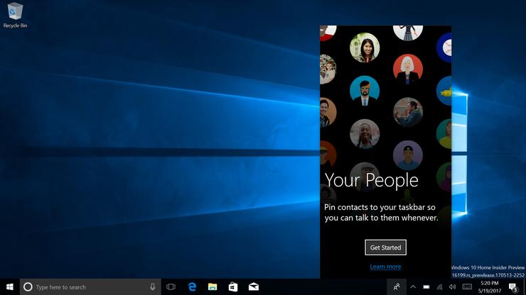 Как получить доступ к своим контактам в Windows 10