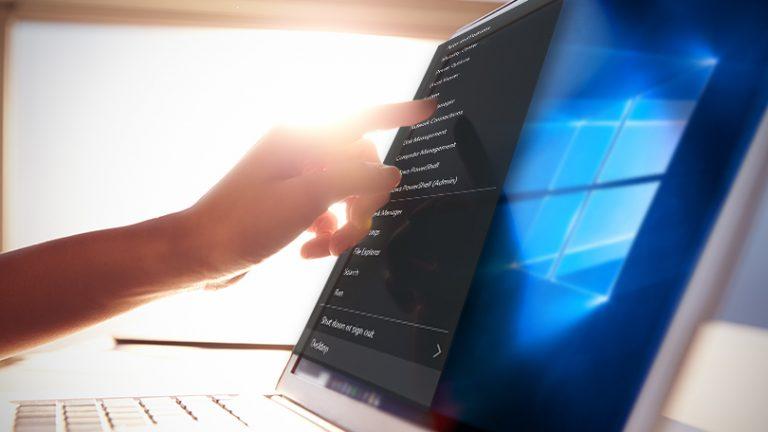 Как настроить меню опытного пользователя Windows 10