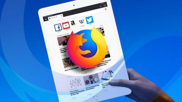 Как установить и использовать Firefox на iOS