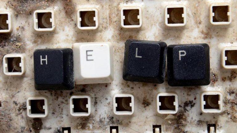 Как починить клавиатуру ноутбука?