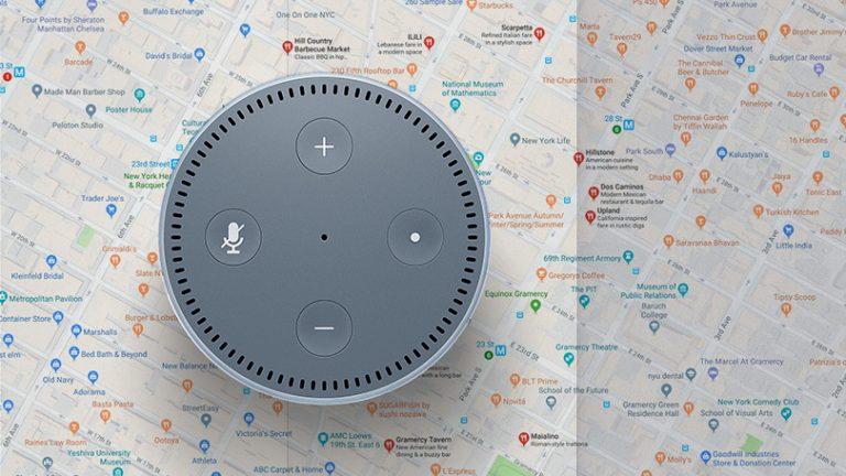 Как получить местную информацию из Amazon Alexa