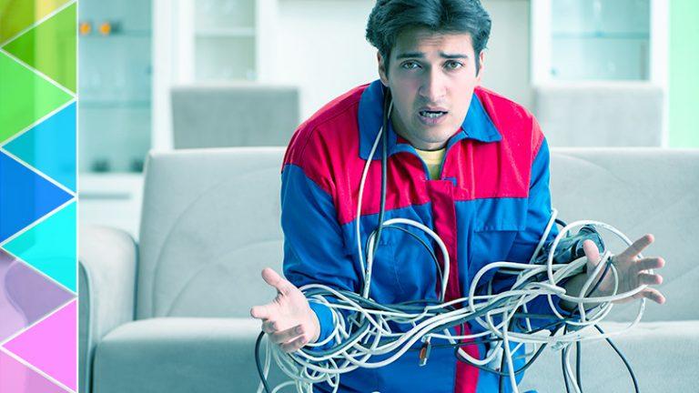 9 простых и дешевых советов по очистке грязных кабелей