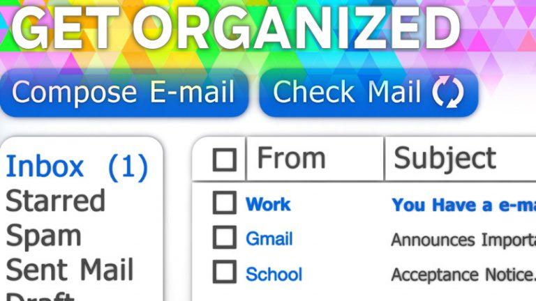 Организуйтесь: как изменить имя «От» в электронном письме