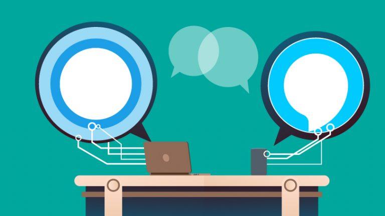 Как связать Alexa и Cortana, использовать их вместе