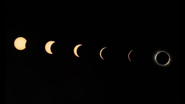 Как увидеть солнечное затмение этим летом