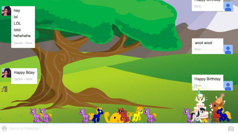 Как разблокировать 9 скрытых анимаций в Google Hangouts
