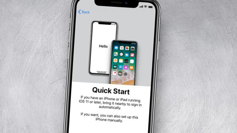 Как автоматически настроить новый iPhone