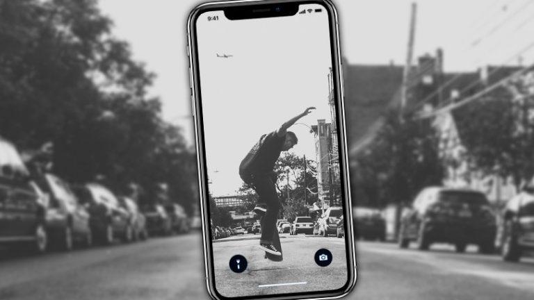 Как изменить обои на iPhone X