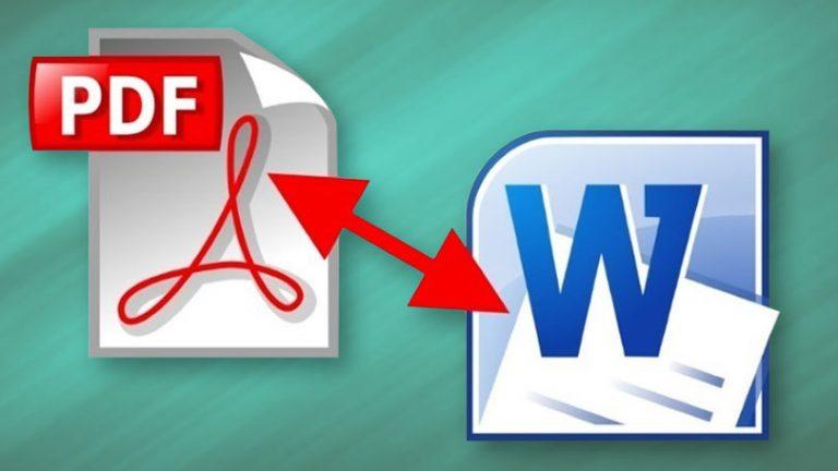 Как конвертировать PDF-файлы в документы Word и файлы изображений