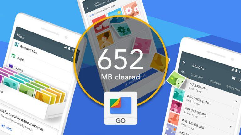 Как освободить место на Android с помощью Files Go