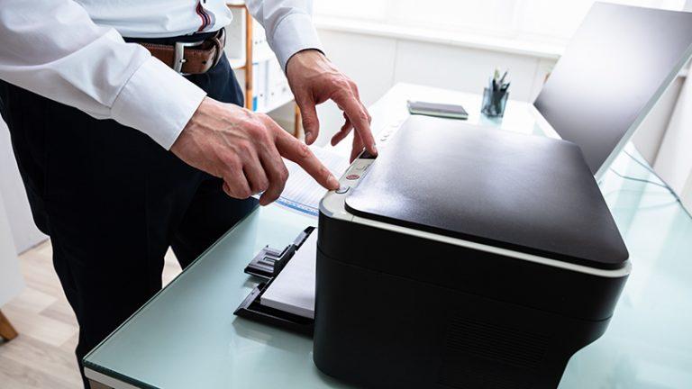 Что делать, если ваш принтер не печатает документ