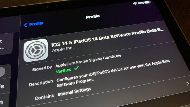 Как удалить общедоступную бета-версию iOS 14