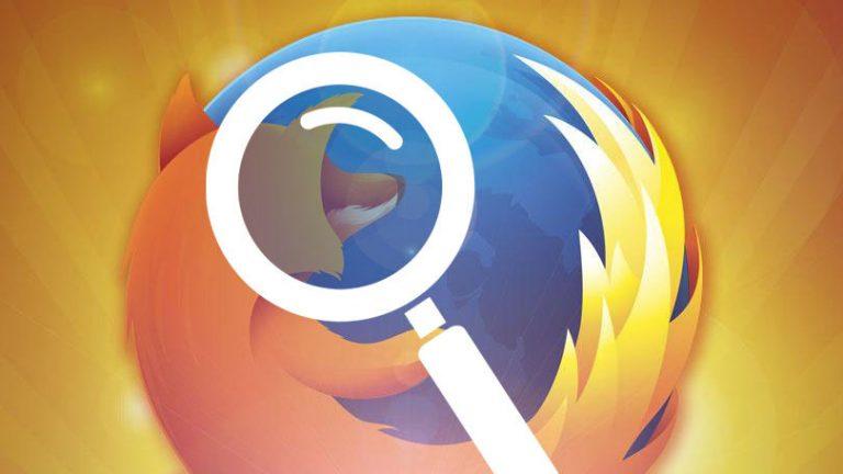 Как настроить элементы управления поиском в Firefox