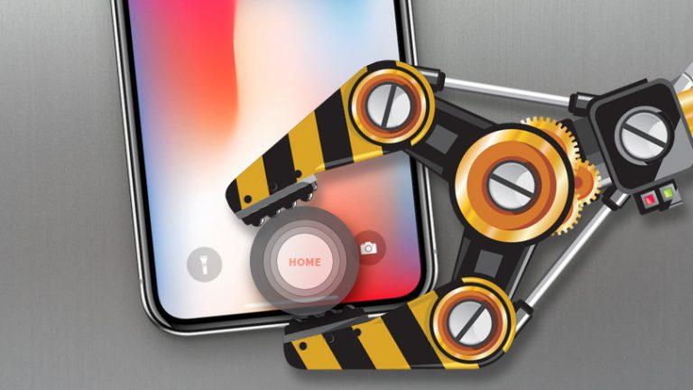 Как добавить виртуальную кнопку домой на iPhone X