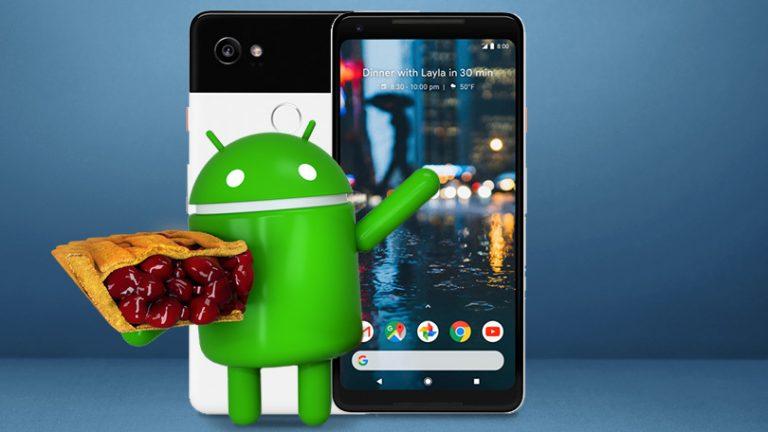 Как перемещаться по Android Pie с помощью жестов