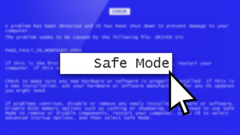Как запустить Windows 10 в безопасном режиме