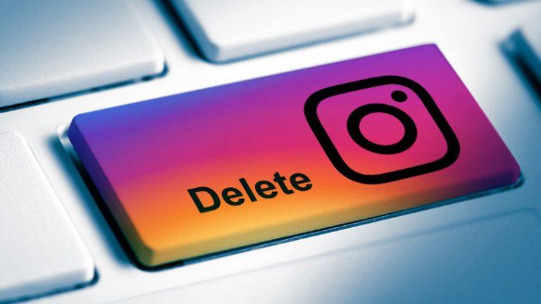 Как удалить свою учетную запись Instagram