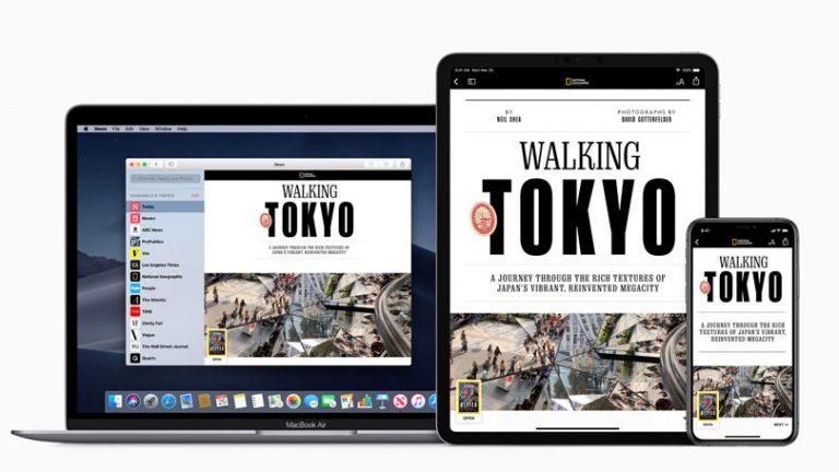 Как получить Apple News +