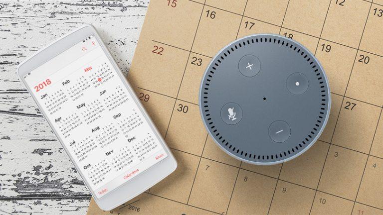 Как связать свой календарь с Alexa от Amazon