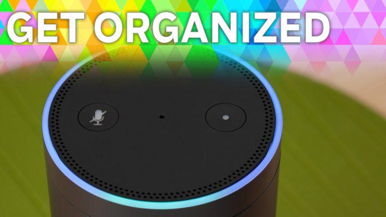 Будьте организованы: 5 способов повысить продуктивность с Amazon Echo
