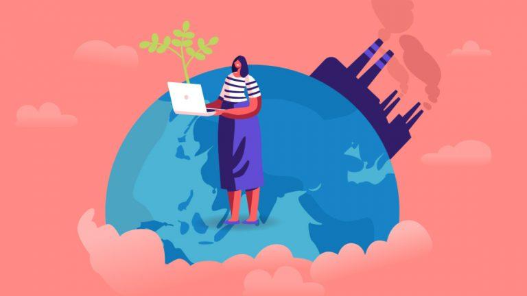 Как уменьшить углеродный след при покупках в Интернете