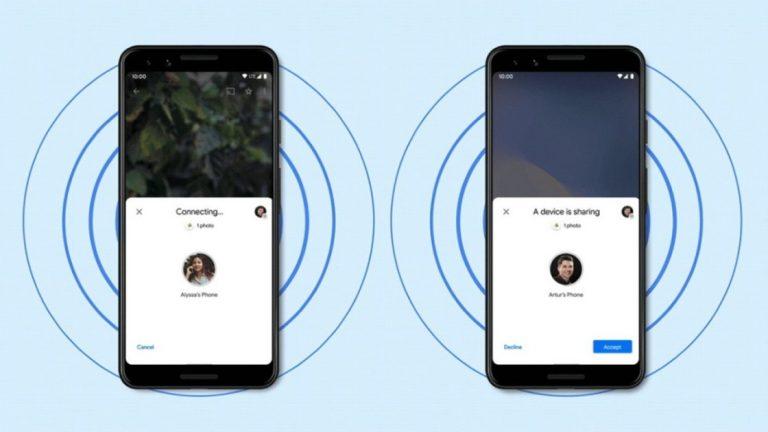 Как обмениваться файлами между устройствами Android с помощью функции Nearby Share