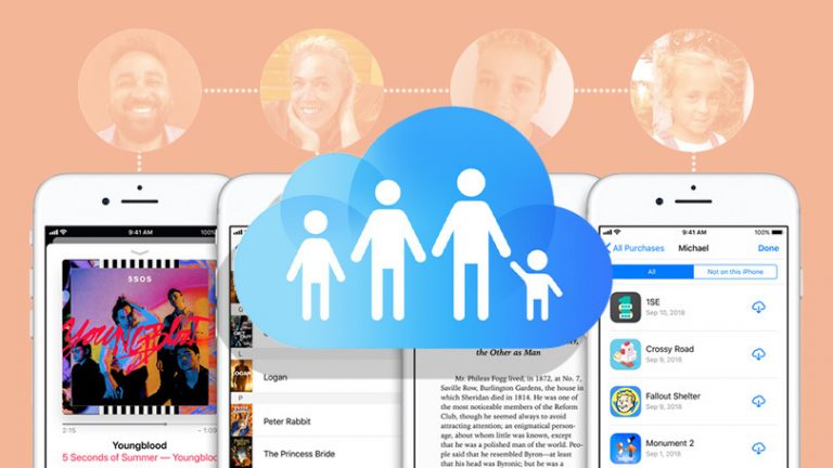 Как настроить семейный доступ для хранилища iCloud