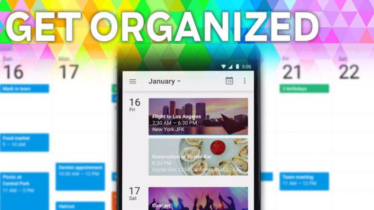 Организуйтесь: 7 советов по продуктивности для мобильного приложения Google Календарь