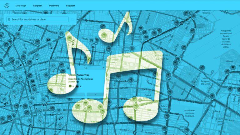 Как воспроизводить музыку и подкасты с помощью приложения Waze