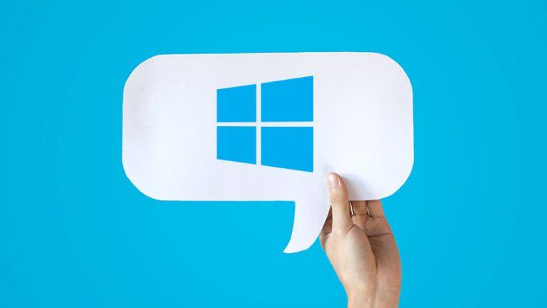 Как сказать Microsoft, что вы действительно думаете о Windows 10