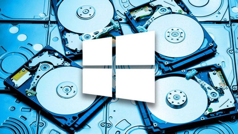 Как освободить место на жестком диске в Windows 10
