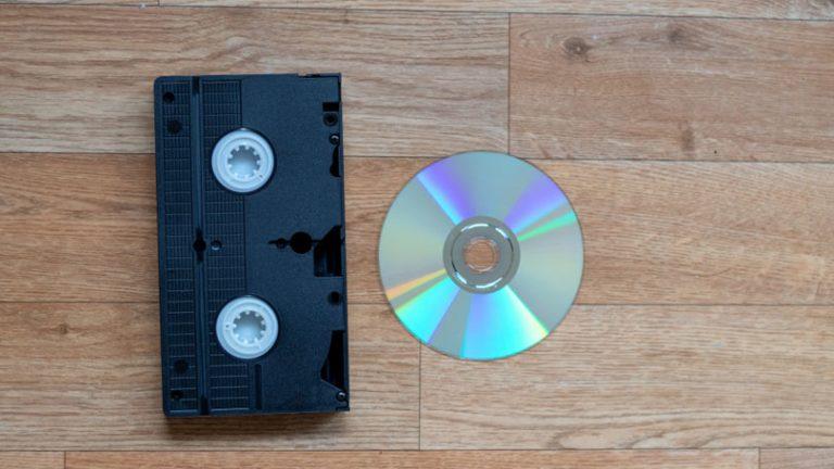 Как конвертировать домашние фильмы VHS в DVD
