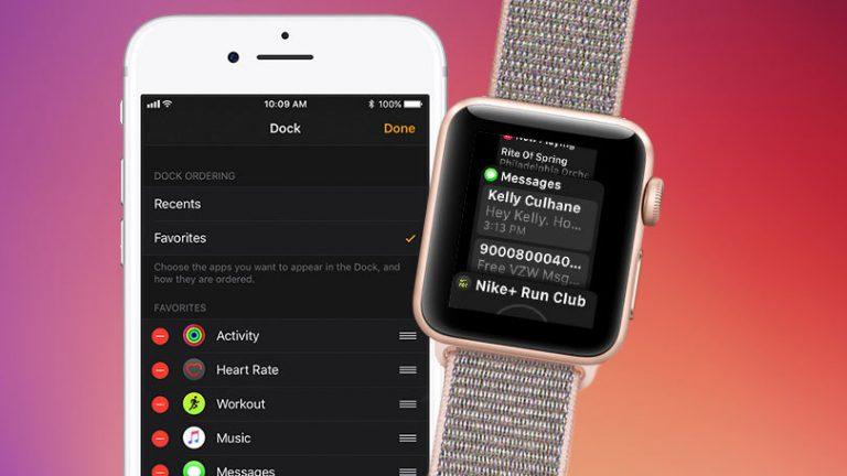 Как получить доступ к приложениям из док-станции Apple Watch