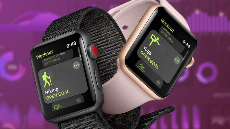 Как отслеживать тренировки и действия на Apple Watch