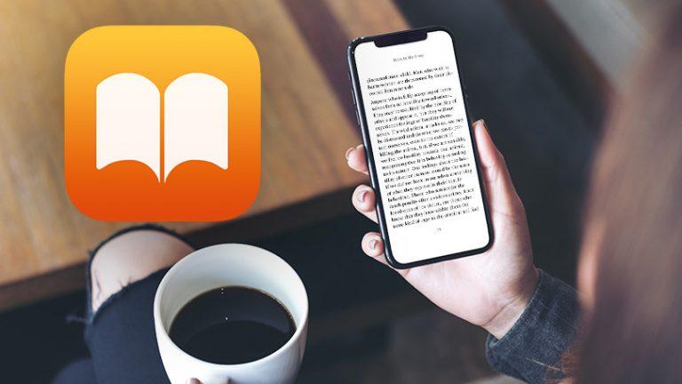 Как использовать новое приложение Apple Books в iOS 12