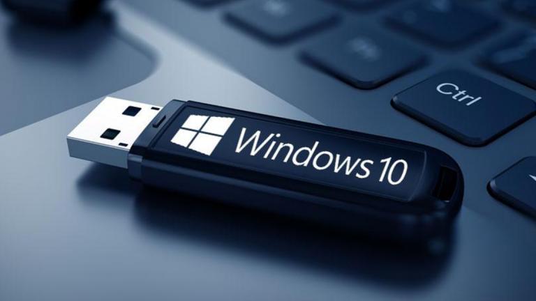 Как запустить Windows 10 с USB-накопителя