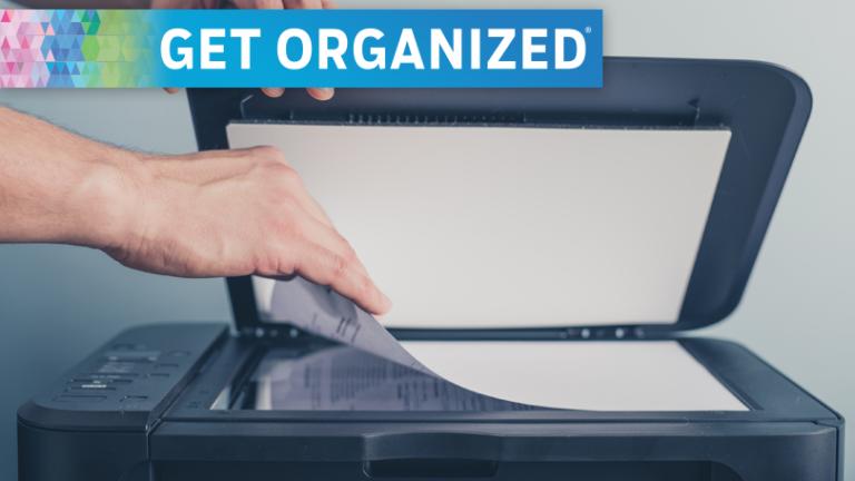 Организуйтесь: как сканировать, сохранять и уничтожать налоговые документы