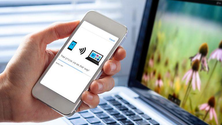 Как перенести фотографии с телефона на ПК по беспроводной сети