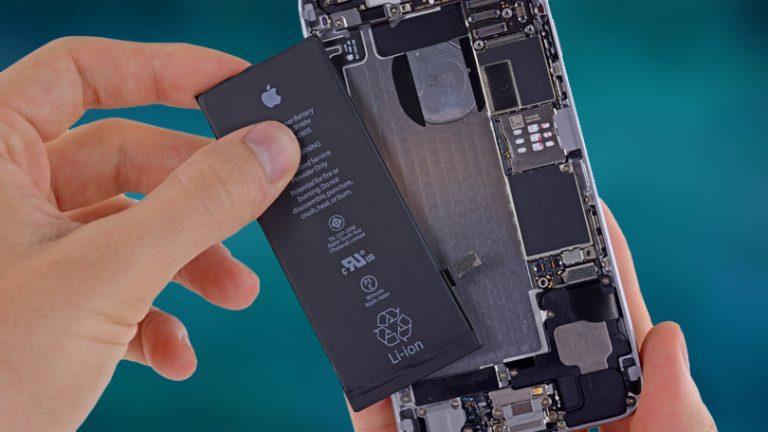 Как заменить аккумулятор в iPhone