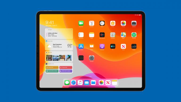 Как управлять виджетами в iPadOS
