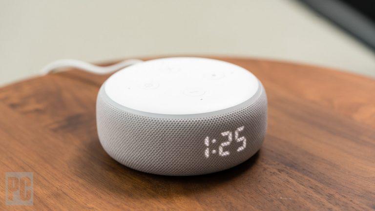 Как подключить Amazon Echo Dot к внешнему динамику