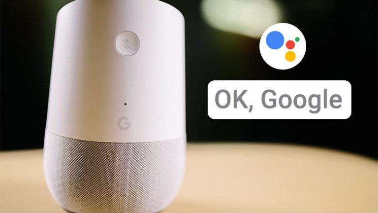 Как научить голосовой тренинг умный динамик Google Home