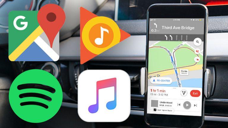 Как использовать ваше любимое музыкальное приложение на Google Maps