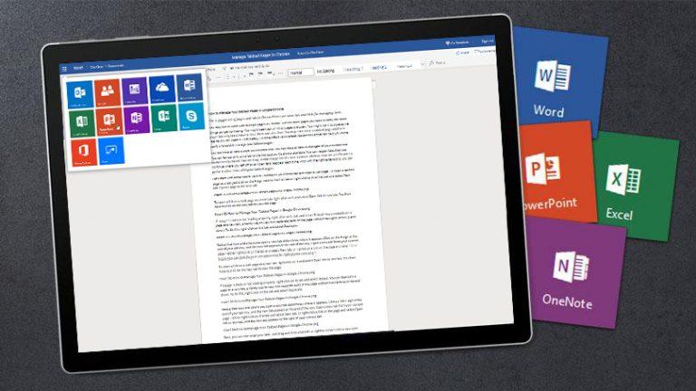 Как использовать Microsoft Office бесплатно в Интернете