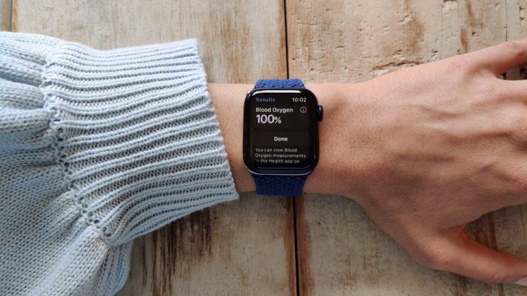 Как измерить уровень кислорода в крови с помощью Apple Watch Series 6