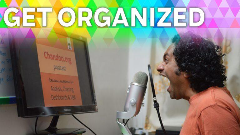 Будьте организованы: Chandoo и отображение жизни в Excel