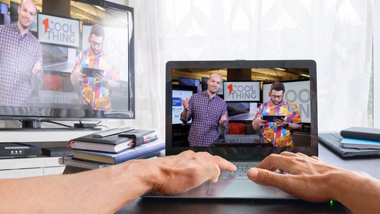 Как использовать телевизор с большим экраном для онлайн-обучения (и развлечений)