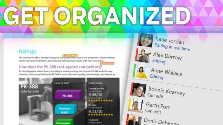 Организуйтесь: как сотрудничать в Microsoft Office за 5 простых шагов
