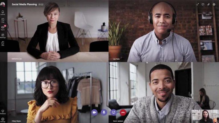 Как изменить свой фон в Microsoft Teams
